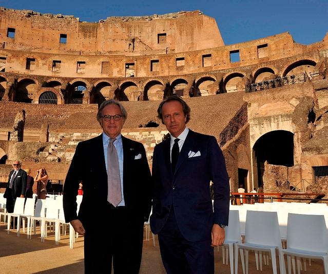 コロッセオの修復にトッズ・グループが資金提供!