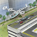 Uberが「空飛ぶタクシー」計画を発表 2026年のサービス提供めざす