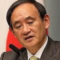 辺野古問題では強硬姿勢の菅官房長官はUSJの話題では饒舌だった(2015年3月撮影)