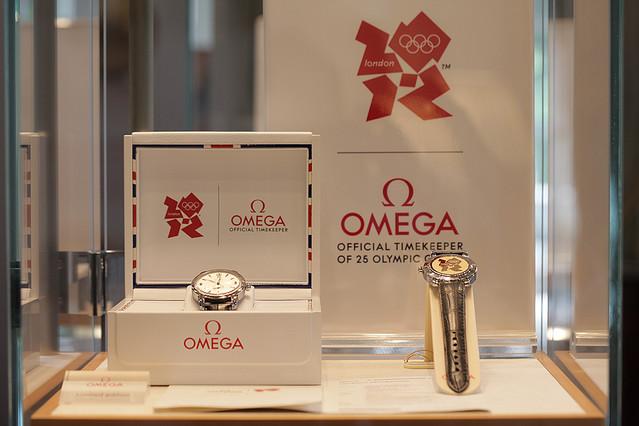 オメガがロンドン・オリンピック1年前を記念して記念モデルを発売!