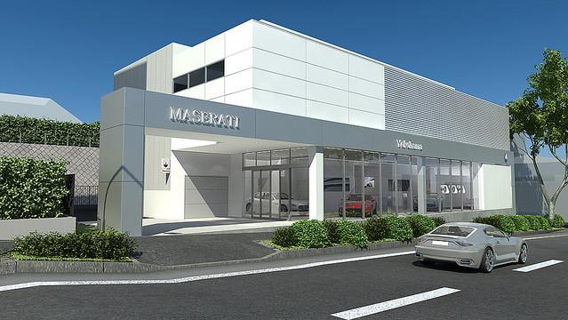 『マセラティ 横浜』が4月23日(月)にグランドオープン!
