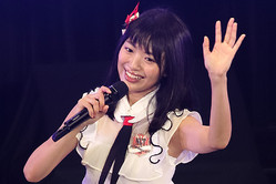 NGT48キャプテンの北原里英