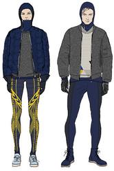 H&M スウェーデン選手のオリンピックウェアをデザイン