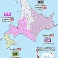 北海道を4県に分割した場合(編集部作成)