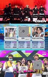 """「音楽中心」EXO-Kが2週連続で1位を獲得…""""中毒""""は続く"""