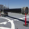 米軍が開発を進めている艦載兵器「レールガン」。大電流により発生する磁場の相互作用で弾を超高速で撃ち出す。防衛省も開発を検討しているとされる