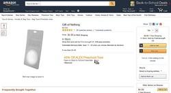 """Amazonが""""無""""を売り出した? ネットで話題の無の商品を検索してみた"""