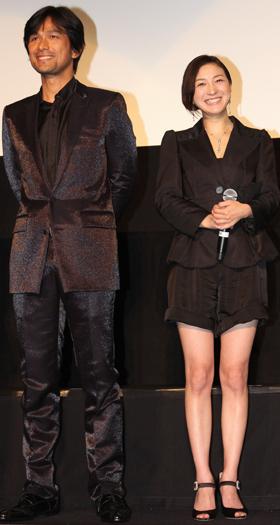 映画「GOEMON」、新宿など全国で一斉試写会