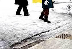 """雪の日に""""転ばない""""3つのコツ"""