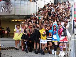 渋谷109ショップ店員が仮装姿で大集合 全館ハロウィンイベント初開催