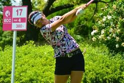 首位スタートを決めた小竹莉乃(写真提供:日本プロゴルフ選手権)