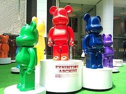 渋谷パルコで祝うメディコム・トイ15周年、「BE@RBRICK」が集結