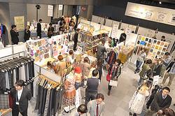 繊維関連35社と新進15ブランド参加「テキスタイルネット展」原宿で開催