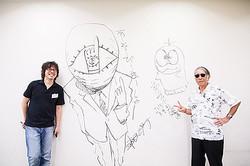 漫画家25人の「豪華すぎるラクガキ」小学館ビル解体前に2日間限定公開