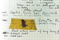 世界最古、本物の「コンピューター・バグ」の写真