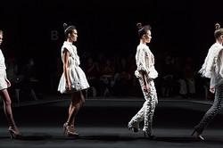 【ファッションウィーク1日目】日・蘭・モンゴルのデザイナーがショー開催