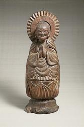 画像は江戸時代の「木喰仏」。柳の紹介によってその存在が世に認められた