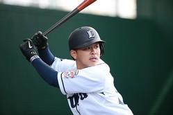 大阪桐蔭時代、1番打者として活躍した西武の浅村栄斗©BASEBALLKING