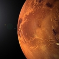 火星の空は何色をしているの?