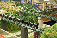 「れんたるポポ鉄道」を走る機関車