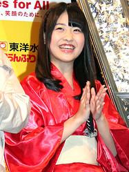 「R-1ぐらんぷり2013」に参戦するHKT48の中西智代梨