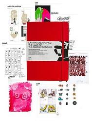 モレスキンから108名のグラフィックデザイナーのスケッチ集発売 100冊限定
