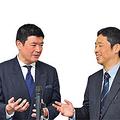 (左)須藤靖貴氏(右)プレジデント編集部N氏
