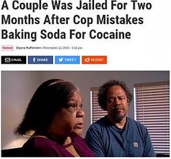 薬物の迅速検査キットにより誤認逮捕となったユタ州の夫妻(出典:http://www.vibe.com)