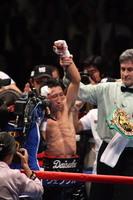 内藤がタイトル初防衛に成功。33歳1ヶ月、日本人選手の最年長防衛記録をつくった。