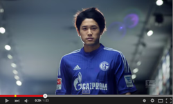 内田篤人はいまやブンデスの顔? リーグ後半戦プロモーション動画に登場