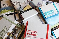 建築家の創造過程に迫るモレスキン書籍、スタジオ・ムンバイなど4作追加