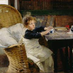 展覧会「ヘレン・シャルフベックー魂のまなざし」フィンランドが誇る女性画家の日本初・大規模個展