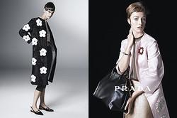 PRADA新ウィメンズ広告に11名のモデル起用 スティーヴン・マイゼルが撮影