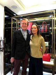英国発「J&M デヴィッドソン」南青山ブランドストリートに旗艦店オープン