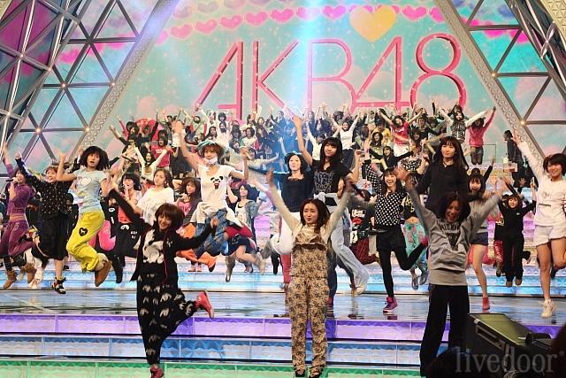 アイドルグループのAKB48