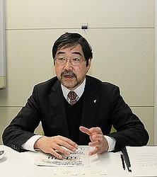 実証実験の成果について説明するダイキン工業の新井潤一郎・環境技術研究所主席研究員