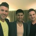 同性愛の男性3人組が赤ちゃんを迎えることに(画像はmetro.co.ukのスクリーンショット)
