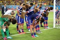 悪い流れを作ってしまったブラジル・ワールドカップ。越後氏は「裏切られた」。 (C) SOCCER DIGEST