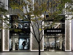 バーバリー関西初の路面店が神戸旧居留地にオープン