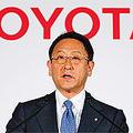 豊田章男社長は株主総会で「民間企業のトヨタが資本市場を活性化する」と述べた。(時事通信フォト=写真)