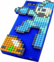 ロックマンとメットールを3Dドットで再現したiPhoneシリコンジャケット登場