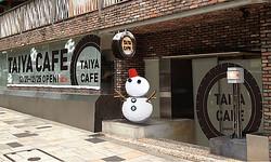 ブリヂストン、TVCMの「タイヤカフェ」を原宿に再現