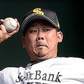 故障の影響で、今季一度も一軍登板がないソフトバンクの松坂大輔©BASEBALLKING