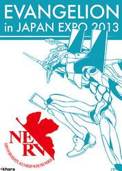 「JAPAN EXPO」でエヴァンゲリオン展示会開催、アニメやコミック原画など