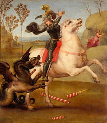 ラファエロ・サンツィオ 《自画像》 1504-06 年 油彩/板 47.3x34.8cm フィレンツェ、ウフィツィ美術館 © Antonio Quattrone