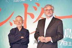 宮崎駿について語った鈴木敏夫プロデューサーと、『レッドタートル』のマイケル・デュドク・ドゥ・ヴィット監督