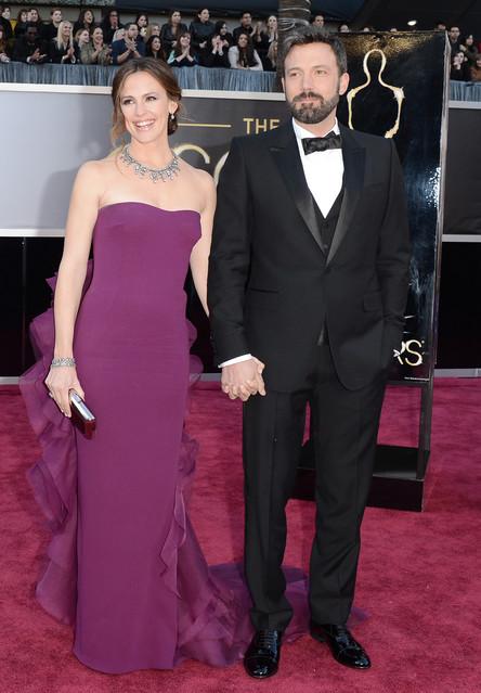 2013年第85回アカデミー賞にて多くのハリウッドスターがグッチを着用して登場
