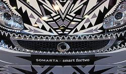 SOMARTAがデザインしたメルセデスベンツの小型車スマート公開 テーマは伝説の鳥