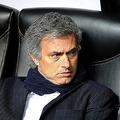 試合前ベンチに座るモウリーニョ監督 (photo by GPG/PHOTO KISHIMOTO)  [2010年3月31日 スタディオ・ジュゼッペ・メアッツァ/ミラノ/イタリア]
