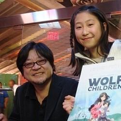 『おおかみこども』ニューヨーク国際児童映画祭に招待、細田監督へ拍手喝采